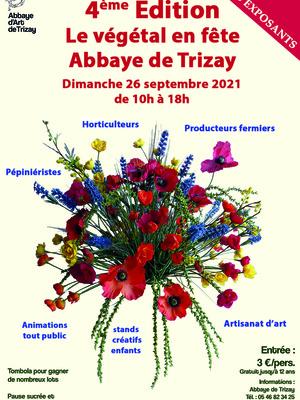 Fête du Végétalà l'abbaye de Trizay